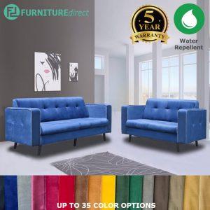 Custom Made- RO006 CARMEN 2+3 seater water repellent sofa
