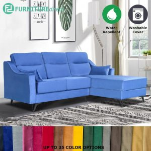 Custom Made- RO003 SABRINA 3 seater L shaped water repellent sofa