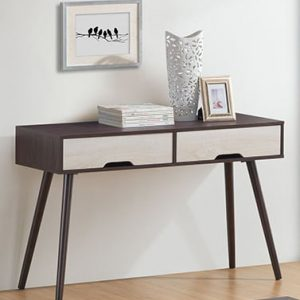 CLEARANCE- SR4122 four feet console table with 2 drawers- Last 5 units