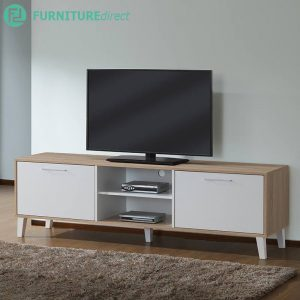 TV2184 Scandinavian 6 feet TV cabinet with 2 door