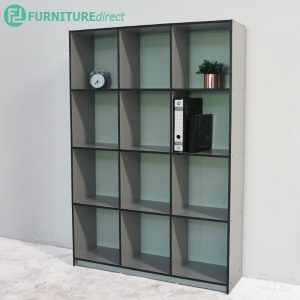 WILLIAM 12 cubes filling cabinet-Grey