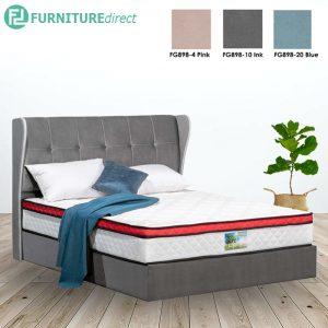 3001 premium grand queen size divan bed frame-3 colors