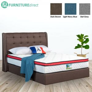 3003 premium grand queen size divan bed frame-3 colors
