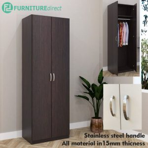 ESCOT 2 Door wardrobe-Wenge