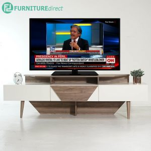 MADINA 6 feet TV cabinet in 3 drawers