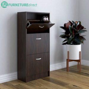 PHILIP space saver 3 doors shoe cabinet