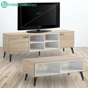VIOLA 6 feet Tv cabinet with coffee table living set