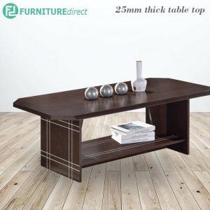 [CLEARANCE] TAD CF838059 engineering wood 4ft coffee table-Wenge