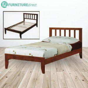 WOODEN SINGLE BED SLAT BASE - 3FT
