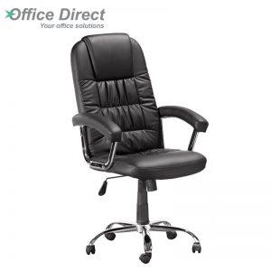 HBC-631 High back soft PVC chair