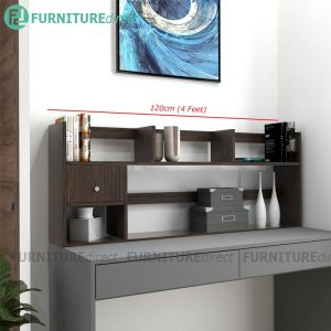[CLEARANCE] RAIDEN 4 Feet Tabletop Organiser Hutch/ Bookcase/ Book Rack