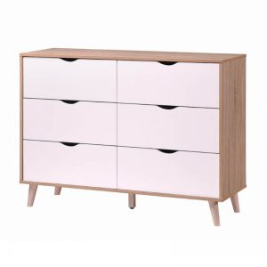 Oricia 6 Drawer Chest