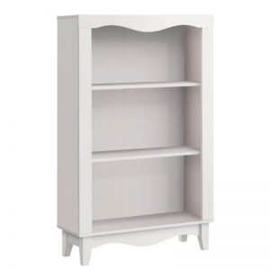 Nalis 3 Tier Bookshelf - White