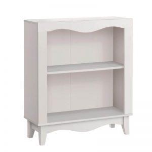 Nalis 2 Tier Bookshelf - White