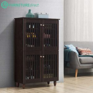 AVENUE 4 Door air ventilation shoe cabinet/ sideboard