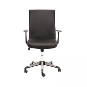 Medium Back Office Chair - Black