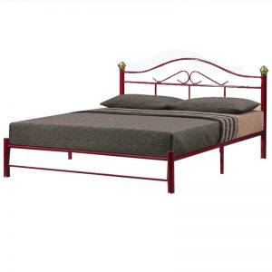 PIPE DOUBLE BED WITH BRC BASE - 2INCH