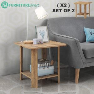 [CLEARANCE] DUSUN side table-set of 2