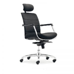 High Back Revolving Office Chair (Fabric)
