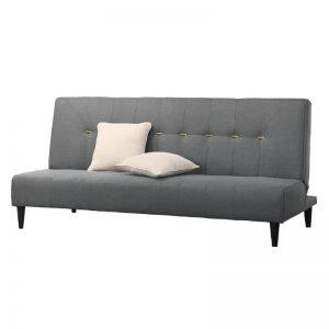KOGI Sofa Bed With 2 Pillows – Grey