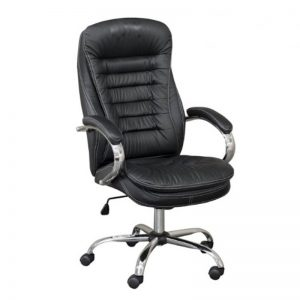 HBC-493-BK - High Back Office Chair (PU)