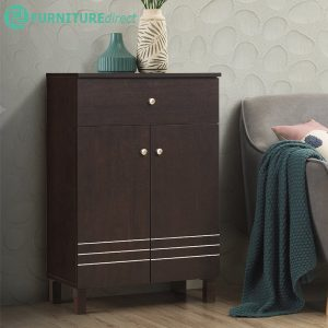 [CLEARANCE] BERGEN 2 Door 1 Drawer Shoe Cabinet/ sideboard
