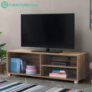 [CLEARANCE] STONOR 4 feet TV cabinet-Wotan Oak