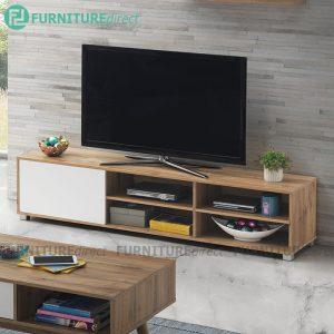 STONOR 6 feet 1 Door TV cabinet-Wotan Oak