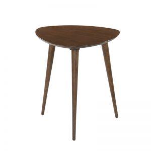 Itami Solid Wood Tea Table - Walnut