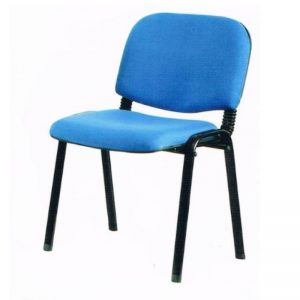 VISITOR FABRIC OFFICE CHAIR - BLUE