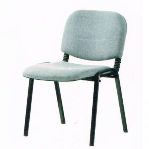 VISITOR FABRIC OFFICE CHAIR - GREY