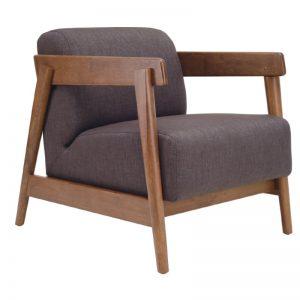 Daewood Lounge Chair - Cocoa