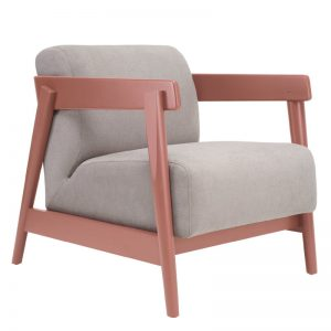 Daewood Lounge Chair - Light Grey