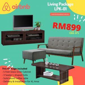 Living Room Package- LPK01