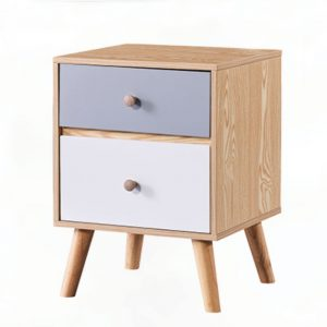 Banana Leaf Side Table With Drawer