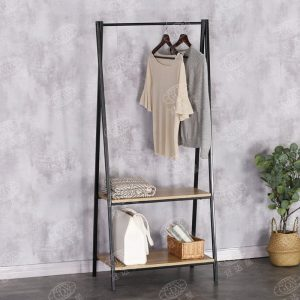 FELIX metal frame A shaped garment rack