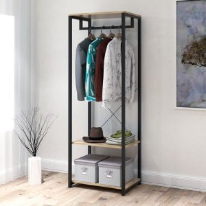 FELIX metal frame compact garment rack