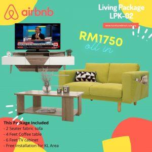 Living Room Package- LPK02