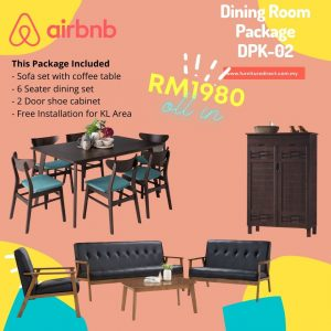 Dining Room Package- DPK01
