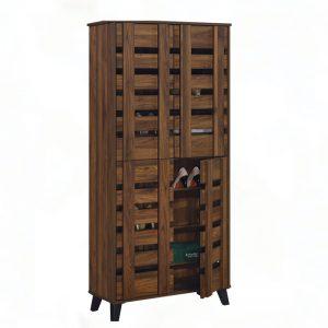 4 Door Shoe Cabinet