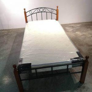 Deluxe Single Metal Bed