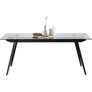 ARCHIE 180x90cm glass top dining table
