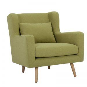 Safari Single Seater Sofa - Natural + Oasis