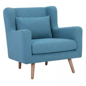 Safari Single Seater Sofa - Natural + Parsley