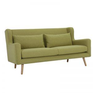 Safari 3 Seater Sofa - Natural + Oasis