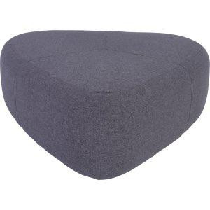 Cirrus 96cm triangle fabric pouf