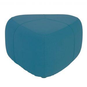 Cirrus 70cm triangle fabric pouf