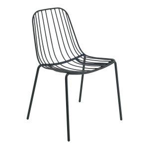 NERISSA outdoor chair-black