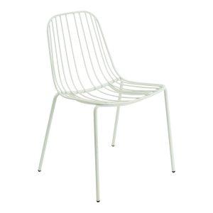 NERISSA outdoor chair-white