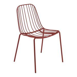NERISSA outdoor chair-red